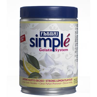 Simplé Fruit Lemon (strong taste)