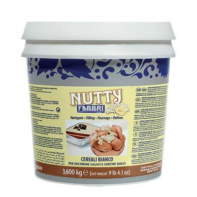 Nutty White Cereal 3,6 kg and 1,2 kg